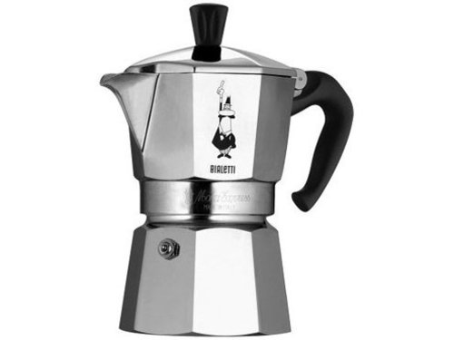 Bialetti espresso percolator...what we use at home.