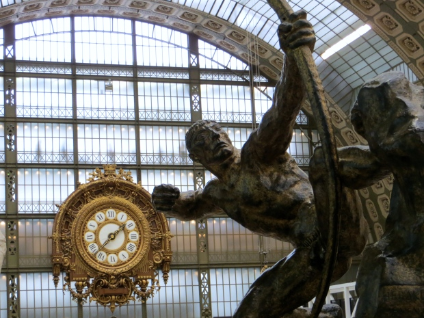 At the Musee D'Orsay...more on my Parisian weekend soon.