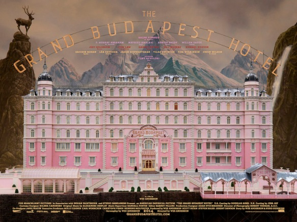 Spoiler alert: You can't actually stay at The Grand Budapest, because it exists only in Wes Anderson's imagination