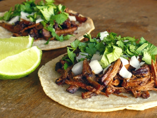 Barbacoa tacos--the things upon which expat dreams are made.