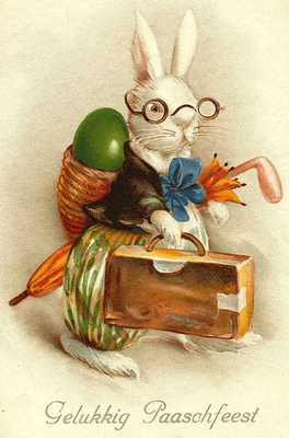 Vintage German Postcard