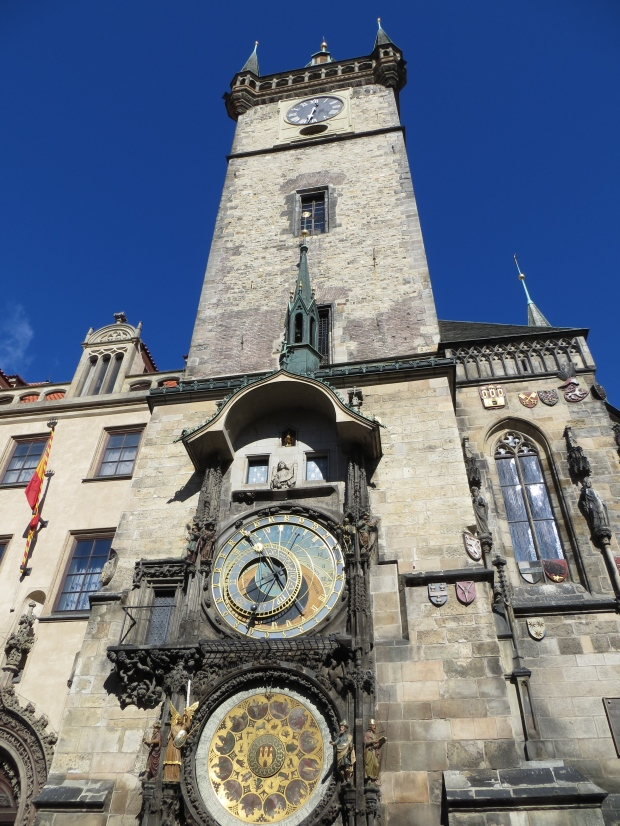 The clock tower in Old Town.