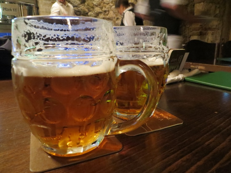 Prague's Pilsner Urquell tastes different at every bar. The creamiest is at Lokal.