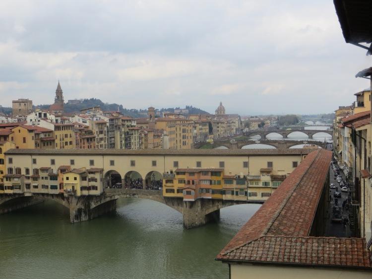 Ponte Vecchio bridge.