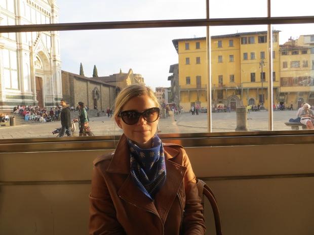 One last aperitivo at Piazza Santa Croce.