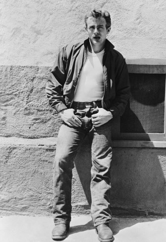 """Rebel"" James Dean in jeans."