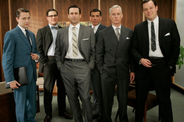 The ultimate suit parade: Mad Men. Are you watching the new season?