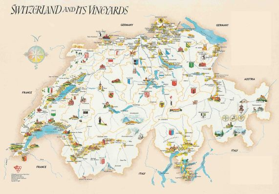 Switzerland-Vineyards-Map