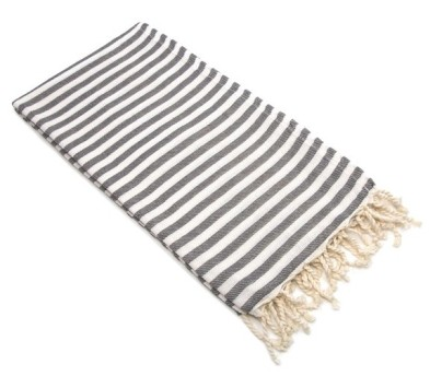 Turkish towel doubles as a scarf and beach blanket ($34) http://bit.ly/1FcrXZQ