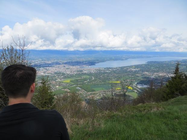 Saturday hike up La Saléve.